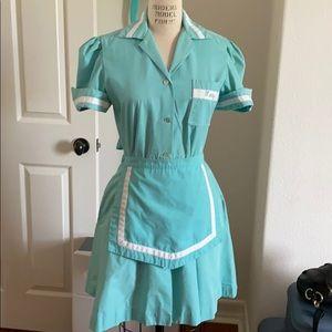Dresses & Skirts - Authentic Vintage Diner Waitress Uniform